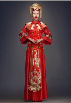 Robe de mariée traditionnelle chinoise